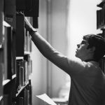 Student_in_the_library,_1981_(4029697030)