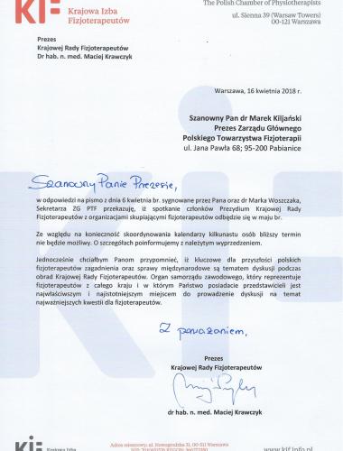 odp PTF prosba o spotkanie 16_04