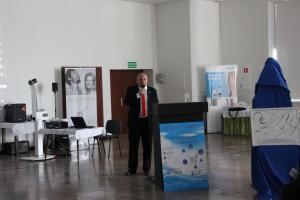 Dr Marek Wiecheć w trakcie wystąpienia
