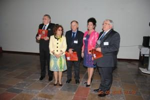 od lewej: Prof A. Sieroń, Prof K. Opalko, Prof. F. Jaorszyk, Dr D. Lietz - Kijak, Prof Z.Śliwiński